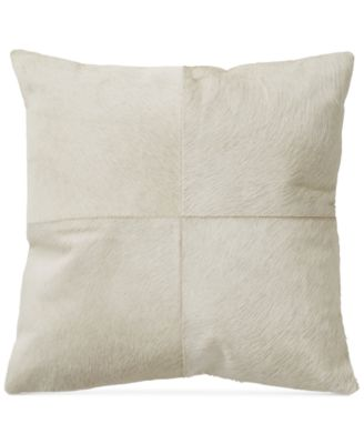 "Exhale Taupe 18"" Square Decorative Pillow"