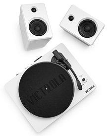 Victrola Turntable & Bluetooth Speakers
