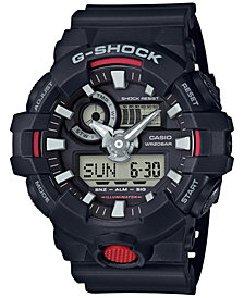 G-Shock Men's Analog-Digital Black Resin Strap Watch 57x48mm GA700-1A