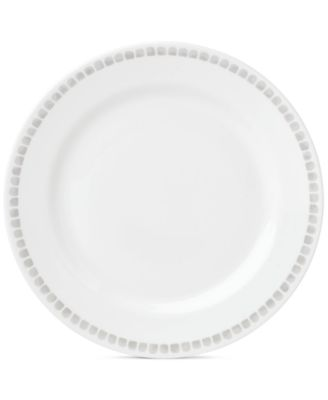 Charlotte Street North Grey Collection Dinner Plate