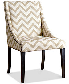 Feltyn Swoop Dining Chair, Quick Ship