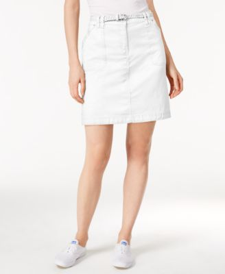 Image of Karen Scott Belted Skort, Only at Macy's