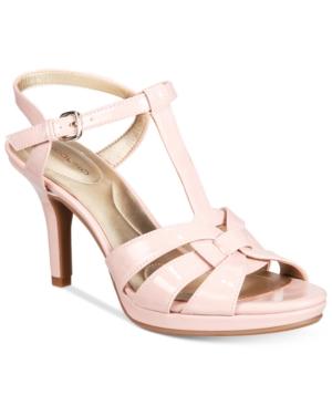 Vintage Style Shoes, Vintage Inspired Shoes Bandolino Sarahi Platform Dress Sandals $36.23 AT vintagedancer.com