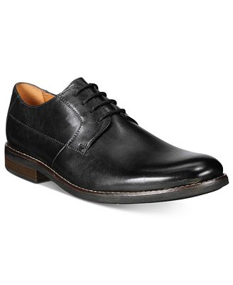 Clarks Men's Becken Plain-Toe Oxfords