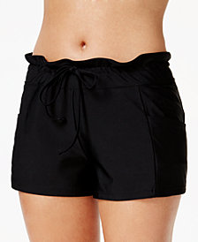GO By Gossip Drawstring Swim Boyshorts