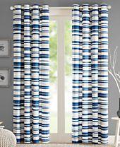 Intelligent Design Sadie Broken Stripe Grommet Window Panel Collection