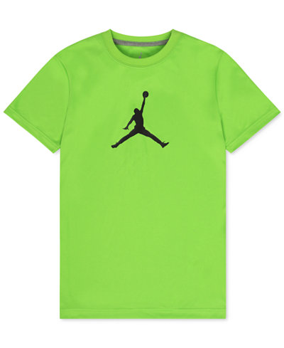 Jordan Dri-FIT Branded T-Shirt, Big Boys (8-20)