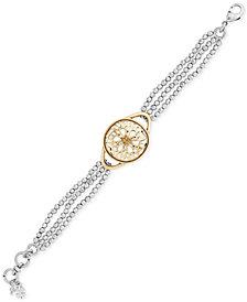 Lucky Brand Two-Tone Pavé Bracelet