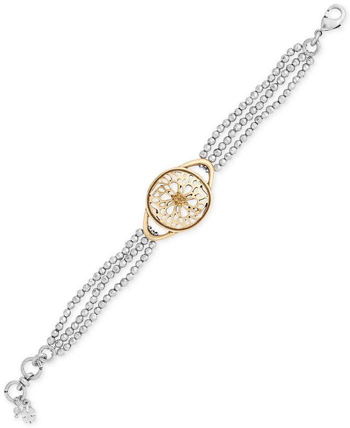 Lucky Brand - Two-Tone Pavé Bracelet