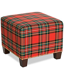 Galen Ottoman Holiday Collection, Quick Ship