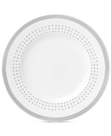 kate spade new york Charlotte Street East Grey Collection Accent Plate