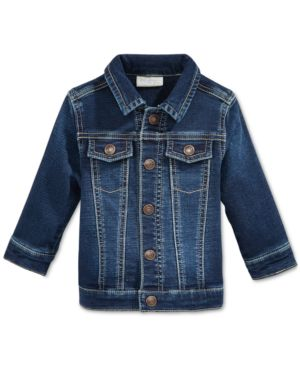 First Impressions Denim Jacket, Baby Boys, Created for Macy's thumbnail