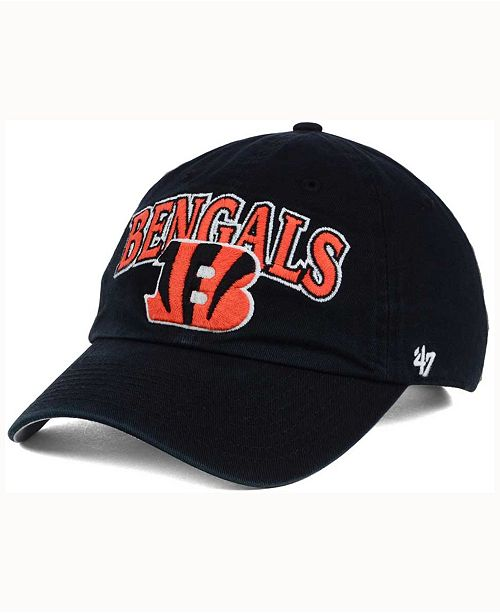 '47 Brand Cincinnati Bengals Altoona Clean Up Cap