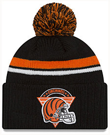 New Era Cincinnati Bengals Diamond Stacker Knit Hat