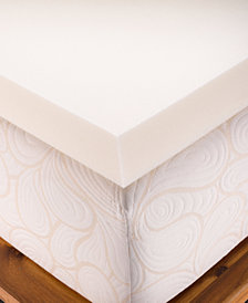 "CLOSEOUT! Authentic Comfort 4"" Memory Foam Mattress Toppers"