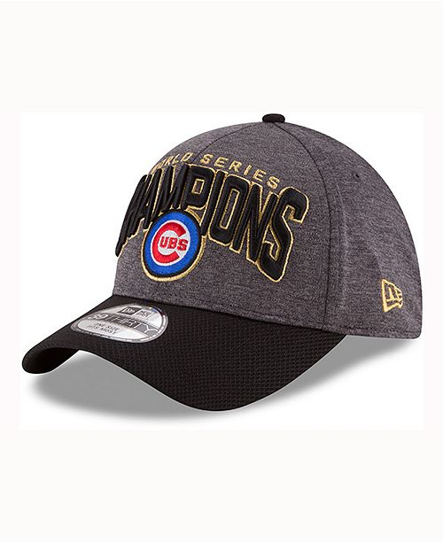 New Era Chicago Cubs World Series Locker Room 39THIRTY Cap - Macy s 6cef0d756a3