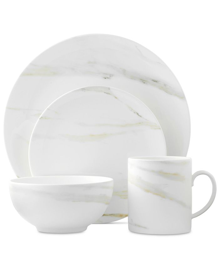 Vera Wang Wedgwood - Venato Imperial Collection 4-Piece Place Setting