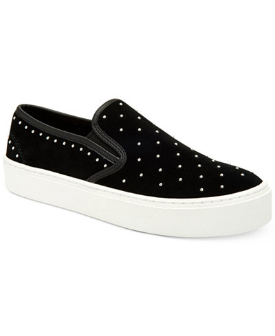 COACH Cameron Studded Slip-On Sneakers