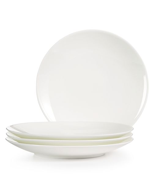 Hotel Collection 4-Pc. Coupe Appetizer Plate Set, Created for Macy's