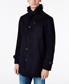 Brown Pea Coat For Men