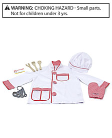 Melissa & Doug Kids Costume, Chef Role Play Costume Set