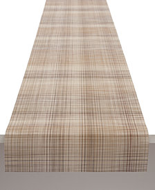 """Chilewich 14"""" x 72"""" Plaid Table Runner"""