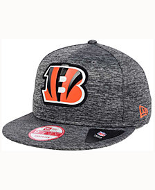 New Era Cincinnati Bengals Shadow Tech 9FIFTY Snapback Cap