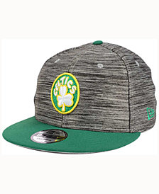 New Era Boston Celtics Blurred Trick 9FIFTY Snapback Cap