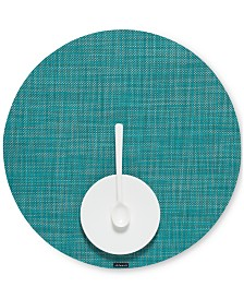 "Chilewich Mini Basketweave 15"" Round Placemat"