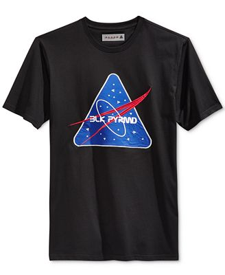 Black Pyramid Men's Space-X Graphic-Print T-Shirt