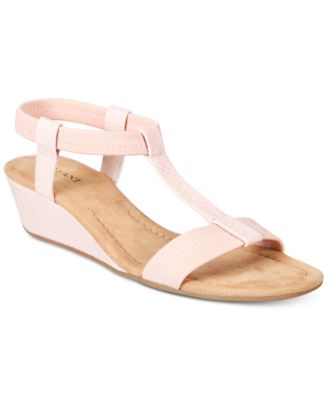 Image of Alfani Women's Voyage Wedge Sandals, Only at Macy's