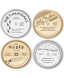kate spade new york Two of a Kind 4-Pc. Coaster Set