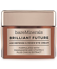 bareMinerals CORRECTIVES™ BRILLIANT FUTURE™ Age Defense & Renew Eye Cream, 0.5 oz