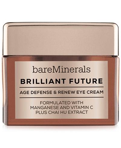 bareMinerals CORRECTIVES™ BRILLIANT FUTURE™ Age Defense & Renew Eye Cream, 0.5 oz