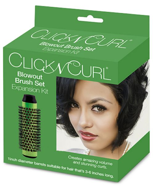 "Bio Ionic Click N Curl 1"" Blowout Brush Set Expansion Kit"