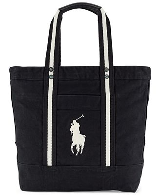 Polo Ralph Lauren Big Pony Canvas Tote - Accessories & Wallets ...