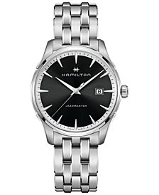 Hamilton Men's Swiss Jazzmaster Stainless Steel Bracelet Watch 40mm H32451131