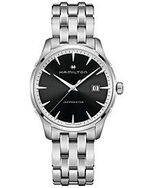 Hamilton Men's Swiss Jazzmaster Stainless Steel Bracelet Watch 40mm H32451131