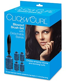"Click N Curl 2.25"" Blowout Brush Set"