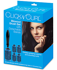 "Click N Curl 2.25"" Blowout Brush Set"