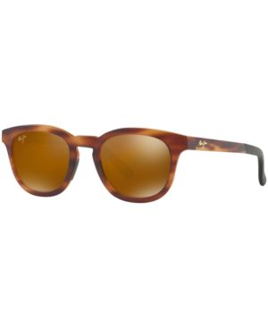MAUI JIM Koko Head 48Mm Polarizedplus2 Sunglasses - Matte Tortoise/ Hcl Bronze in Tortoise Matte/Bronze Mirror Polar