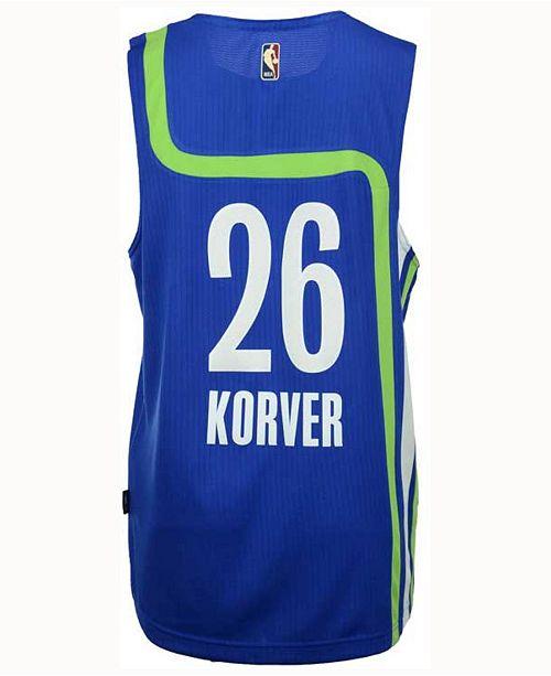hot sale online dbcce d2855 adidas Men's Kyle Korver Atlanta Hawks Hardwood Classic ...