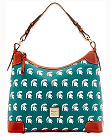 Dooney & Bourke Michigan State Spartans Hobo Bag