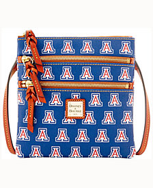Dooney & Bourke Arizona Wildcats Triple-Zip Crossbody Bag
