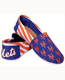 Women's New York Mets Canvas Stripe Shoe