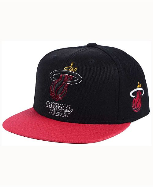 Macys Furniture Outlet Miami: Adidas Miami Heat 2Tonez Snapback Cap & Reviews