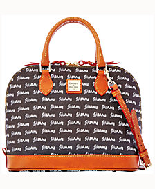 Dooney & Bourke Miami Marlins Zip-Zip Satchel