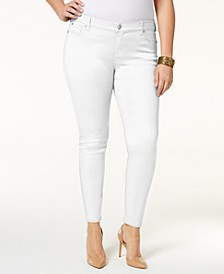 Plus Size  Jayden Colored Skinny Jeans