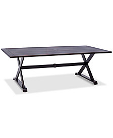 "CLOSEOUT! Savannah 84"" x 42"" Rectangle Outdoor Dining Table, Created for Macy's"