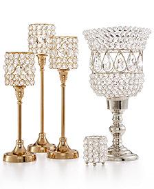 Godinger Lighting by Design Crystal Candle Holder Collection